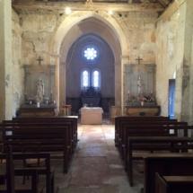 Nef église Prissey